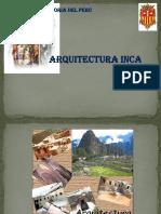 Arquitectura Inca Trabajo Grupal