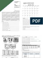 Guias Matematicas Calendario Y medicion No Estandarizada