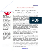 PTF Press Release 10182010