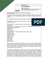 Ficha Pib Cebollin-ibarra II Periodo