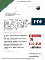 A Arte de Andar Pelas Ruas Do Rio - Rubem Fonseca