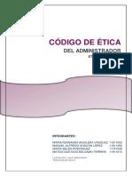 Codigo Etica Profesional Del Administrador (Grupo 4)