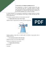 Clasificacion de Las Turbinas Hidraulicas