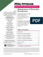 Electrolyte Emergency