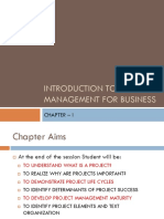 Introduction to Project Management for Business