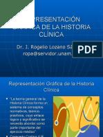 REPRESENTACIÓN GRÁFICA DE LA HISTORIA CLÍNICA usb