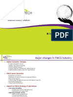 Business Intelligence in FMCG Sector
