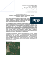 Informe Salida22 de Campo