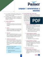 LE_3er Año_S2_Lenguaje I Características y Funciones