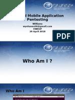 Owasp Mobile