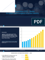 Warehouse Automation Market - Opportunity worth $23B by 2025