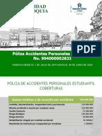 póliza de seguro del laboratorio UDEA