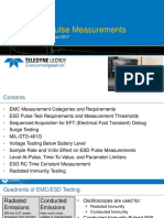 ESD Pulse Measurements Using Oscilloscopes - August 2017