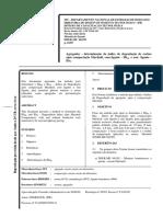 DNER-ME 401.99 - Agregados – Determinação Do Índice de Degradação de Rochas Após Compactação Marshall, Com Ligante – IDML e Sem Ligante - IDM