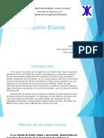 Flexiòn Biaxial