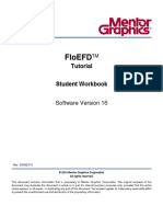 FloEFD Student Workbook TOC