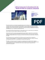 Redes de Gas en El Sector Industrial