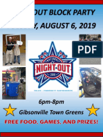 Gibsonville National Night Out