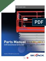 SKYJACK Parts Manual 3226