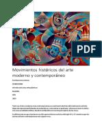 Matriz Comparativa Arte Moderno Estefanía Arias Gómez