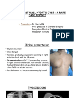 Primary Chest Wall Hydatid Cyst