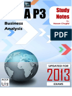 ACCA SBL Course Notes