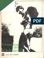 Desnoes, Edmundo - Memorias Del Subdesarrollo