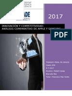 BRUIXOLA - Innovación y Competitividad_ Análisis Comparativo de Apple y Samsung