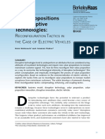 Group #1--Value propositions for disruptive technologies--reconfiguration tactices in the case of electric vehicles.pdf