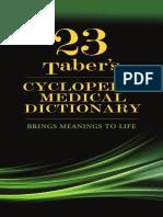 PDF_Taber's Cyclopedic Medical Dictionary