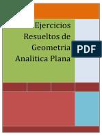 Ejercicios Resueltos de Geometria Analitica Plana
