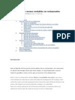 Elaboracion de menus rentables en restaurantes.doc