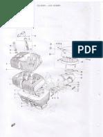 Suzuki T350 Parts List