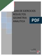 Guia de Ejercicios Resueltos de Geometria Analitica
