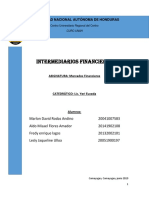 Informe Intermediarios Financieros