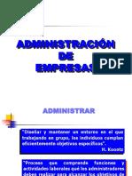 Conceptos básicos- Administracion de Empresas