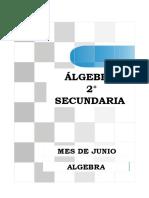 ALGEBRA 2° secundaria