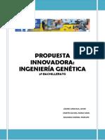 Propuesta Innovadora de la Ingeniería Genética