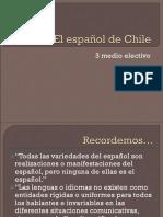 Electivo Lenguaje El Español de Chile