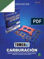 catalogo carburacion