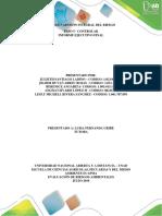Paso 5 - Controlar Informe Ejecutivo