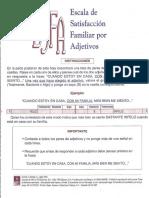 ESCLA DE SASTIFACCION FAMILIAR