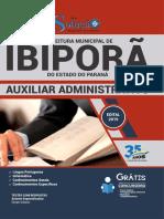 Download Apostila Prefeitura de Ibipor - Pr - 2019 - Auxiliar Administrativo PDF