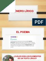 DIAPOSITIVAS - GÉNERO LÍRICO - PRIMARIA