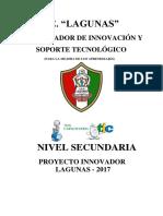 Proyecto Innovador Lagunas 2017