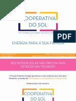 Prospecto Cooperativa Do Sol - Solstício Energia