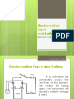 6 Electromotive Force and Battery