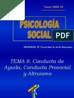 Tema 8 (Psicologia Social)