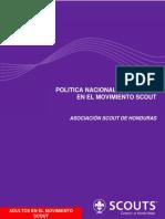 Política Nacional de Adultos en El Movimiento Scout