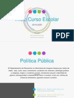 Presentacion Inicio Semestre Escolar Prof. Marisol Martínez-Vega